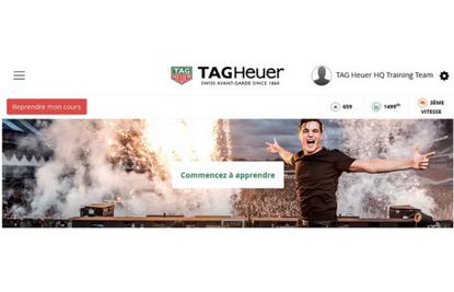 TAG Heuer forme ses vendeurs via un MOOC