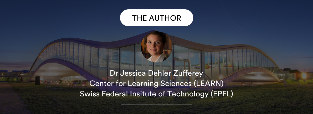 Author first article Learning Research and Innovation