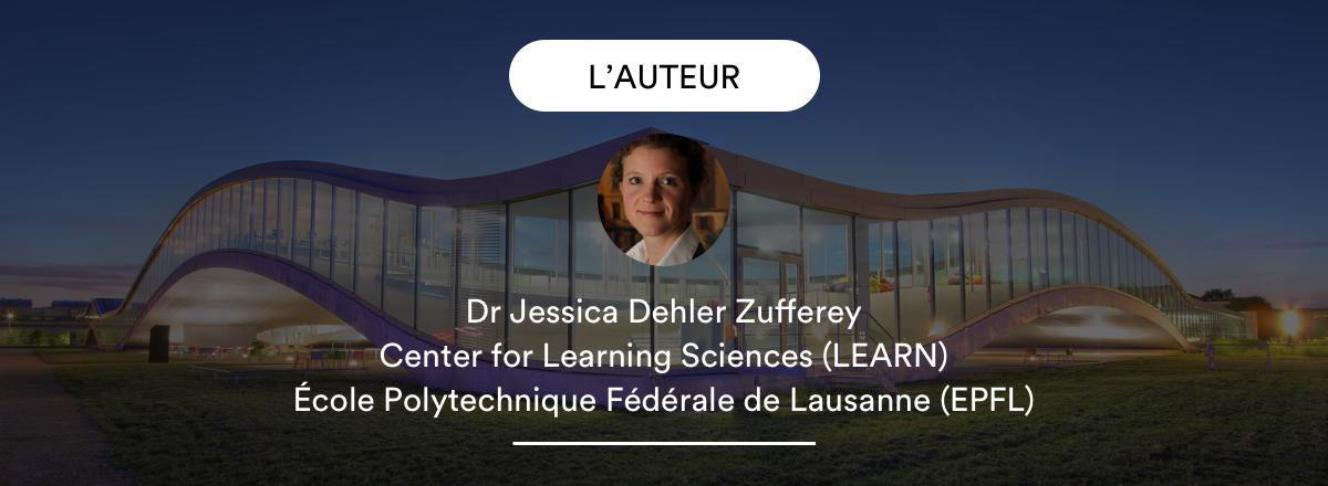 L'auteur de l'article Jessica Dehler Zufferey