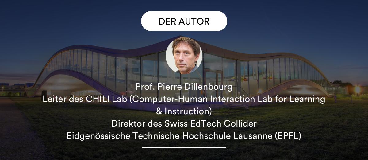 Pierre Dillenbourg, Der Autor