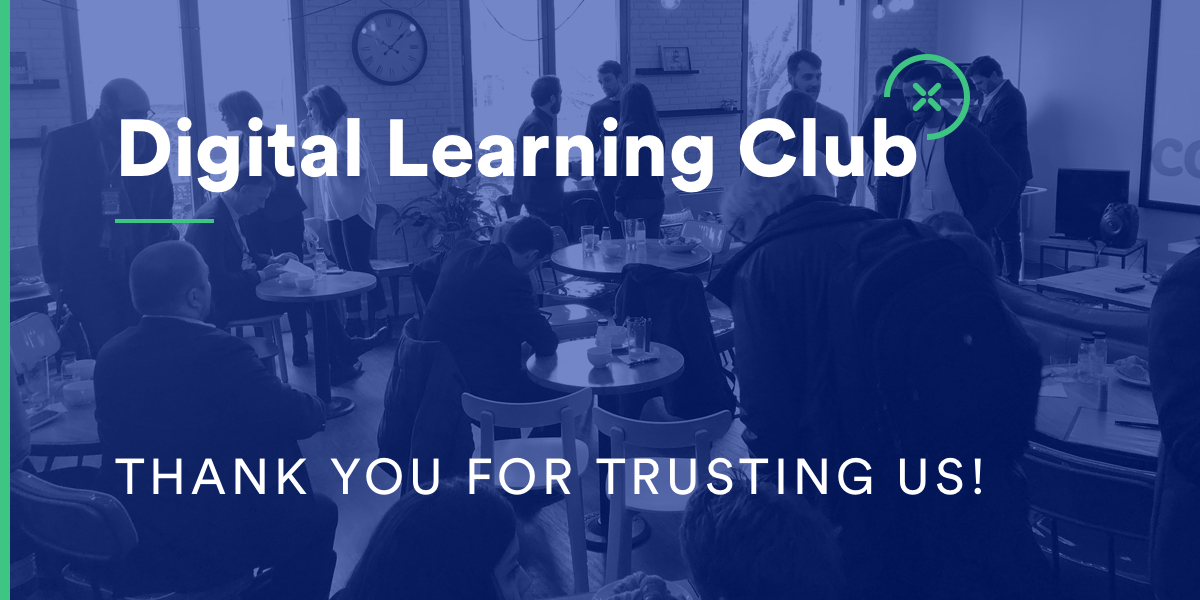 Thank you for Trusting Us - Digital Learning Club