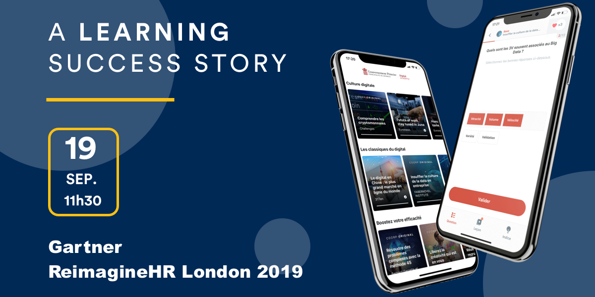 A Learning Success Story at Gartner ReimagineHR London 2019