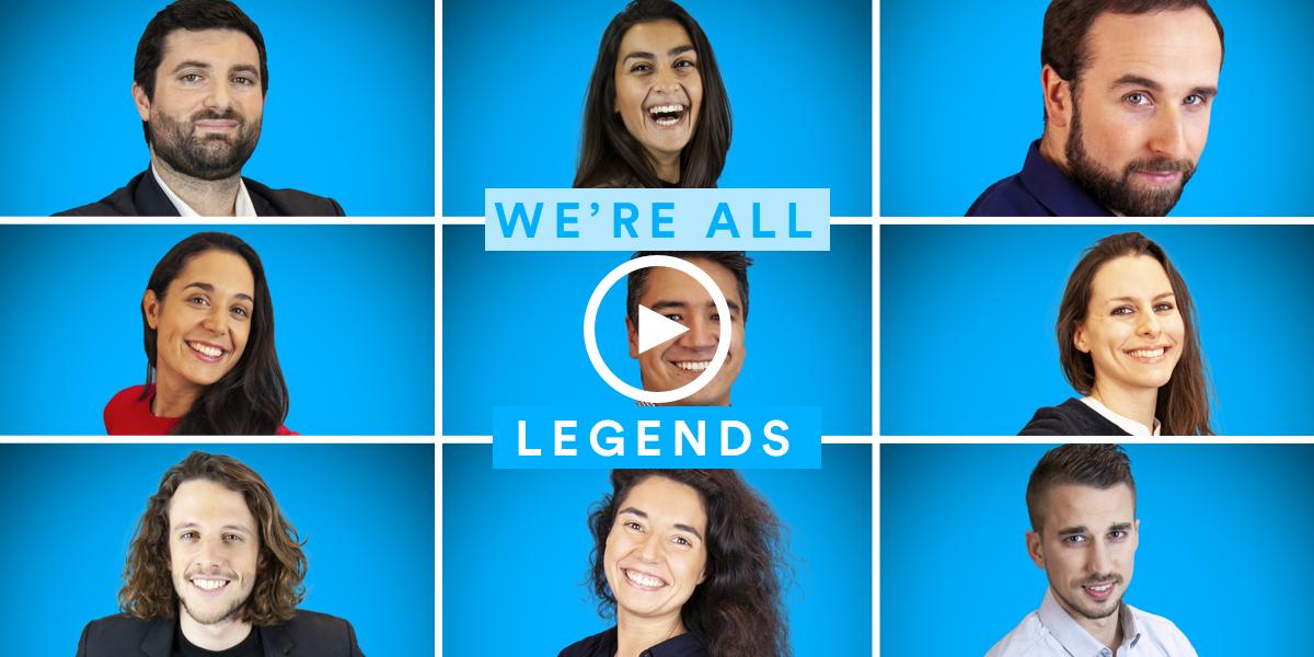 We're all Legends - Lien vers la playlist
