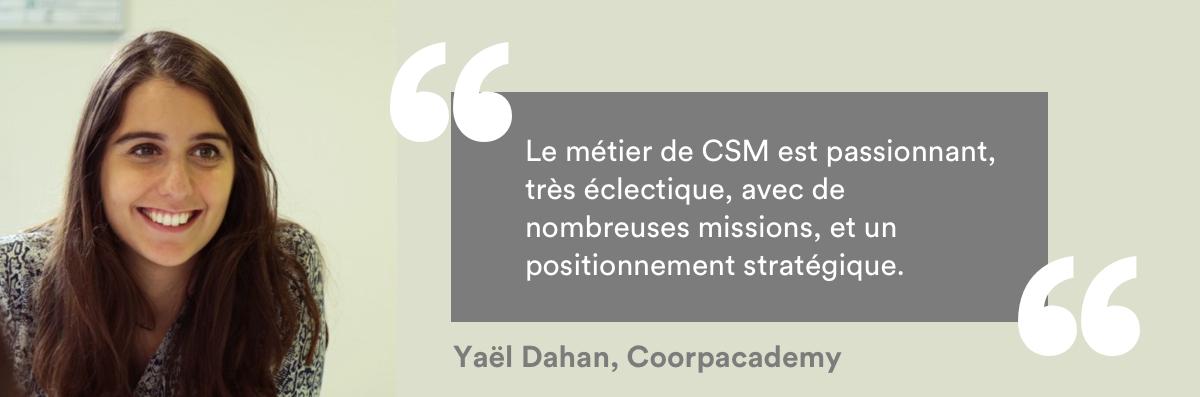 Yaël Dahan customer success manager coorpacademy