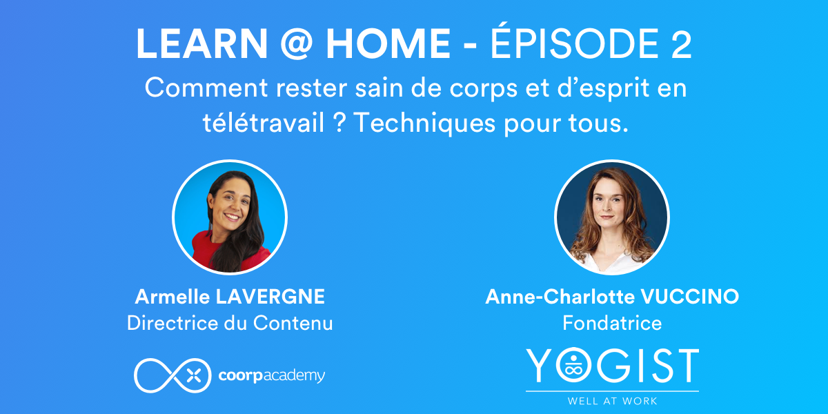 Learn at home épisode 2 Yogist