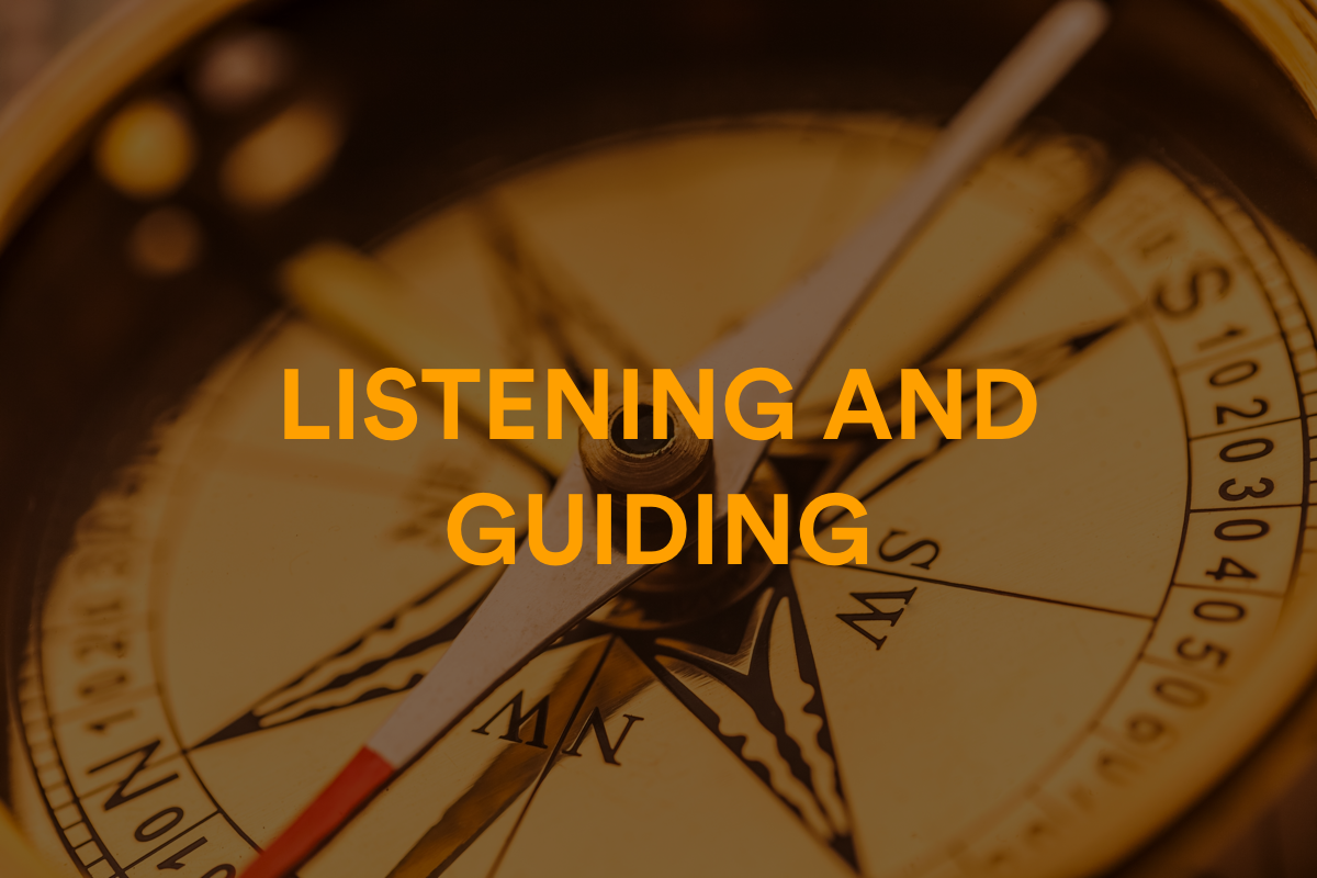 Listening and Guiding Learning Path