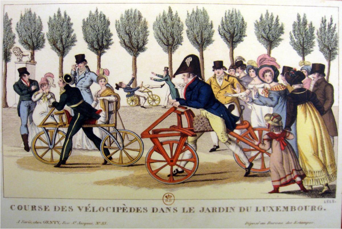 La créativité, c'est l'intelligence qui s'amuse - image et imagination avec le vélocipède