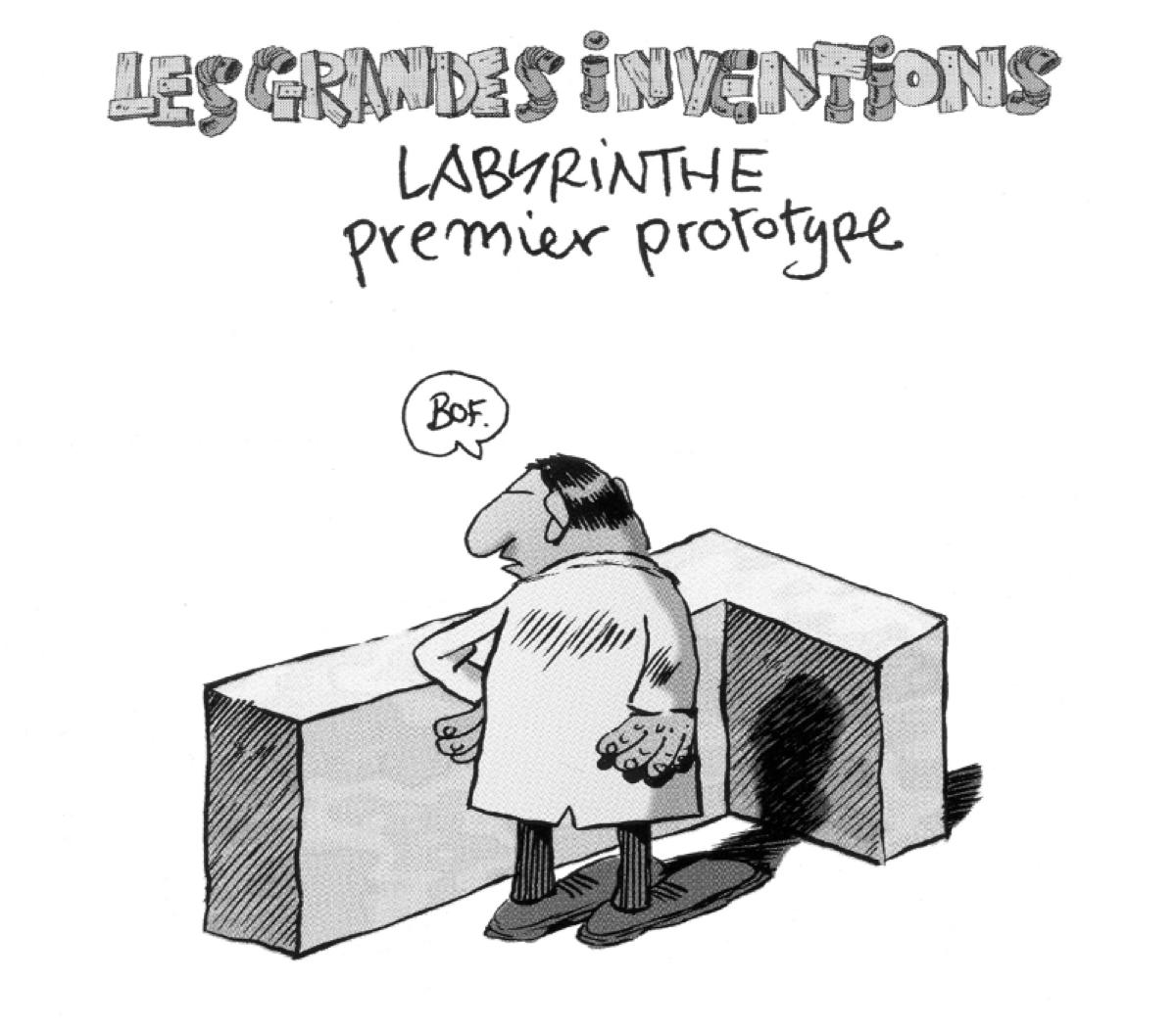 Organiser une session de créativité, le labyrinthe