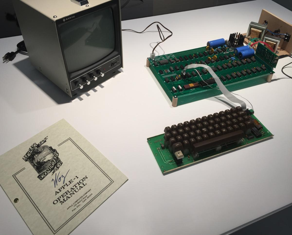 Organiser une session de créativité - le premier ordinateur, Apple 1