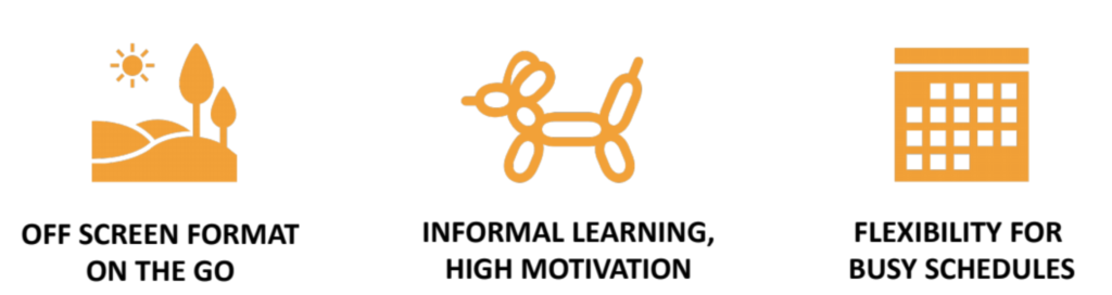 Top 3 Audiolearning Benefits